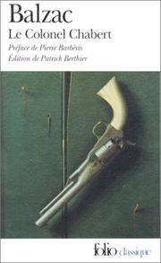 image of Colonel Chabert (Folio (Gallimard)) (French Edition)