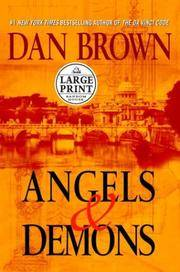 image of Angels_Demons (Random House Large Print)