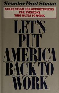 image of Let's Put America Back to Work