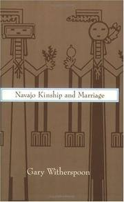 Navaho Kinship and Marriage