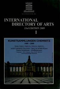 International directory of arts, 33rd ed.; 3v.
