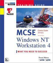 image of MCSE Windows NT Workstation 4 (2nd Edition)