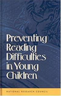 Preventing Reading Difficulties in Young Children