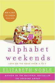 image of Alphabet Weekends: Love on the Road from A to Z