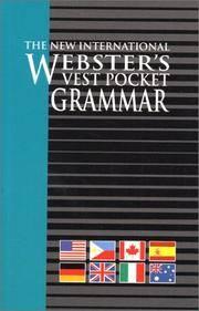 The New International Webster's Vest Grammar