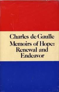 Memoirs of Hope: Renewal and Endeavor