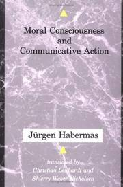 Moral Conciousness and Communicative Action (Studies in Contemporary German Social Thought)