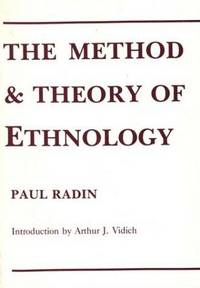 The Method and Theory Of Ethnology