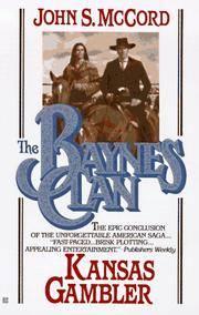 Baynes Clan: Kansas Gambler