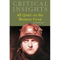 image of Critical Insights: All Quiet on the Western Front [Print Purchase includes Free Online Access]