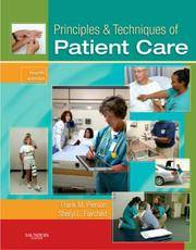 image of Principles & Techniques of Patient Care (Principles and Techniques of Patient Care)