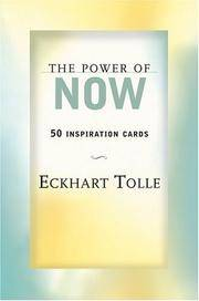 image of The Power of Now: 50 Inspiration Cards