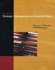 Concepts in Strategic Management and Business Policy, 11th Edition