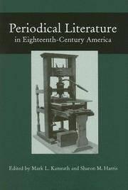 Periodical Literature in Eighteenth-Century America