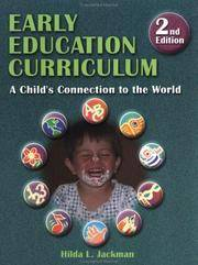 Early Education Curriculum: A Child?s Connection to the World by  Hilda Jackman - Paperback - 2000-08-15 - from Universal Textbook (SKU: PART001026)