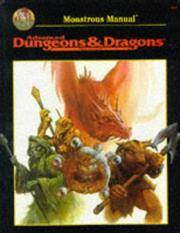 Monstrous Manual : Special Reference Work - An Alphabetical Compendium (Advanced Dungeons & Dragons: Official Game Accessory Ser.)