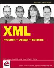 XML Problem Design Solution (Programmer to Programmer)