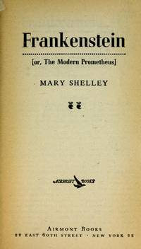 image of Frankenstein (Or, the Modern Prometheus)