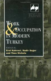 Work and Occupation in Modern Turkey (Routledge Studies in Employment and Work Relations in Context)