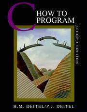C How to Program, 2nd Edition