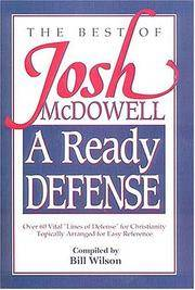 image of A Ready Defense The Best Of Josh Mcdowell