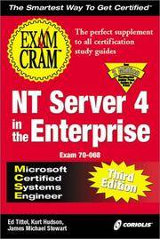 MCSE NT Server 4 in the Enterprise Exam Cram, Third Edition (Exam: 70-068)
