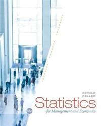 image of Statistics for Management and Economics