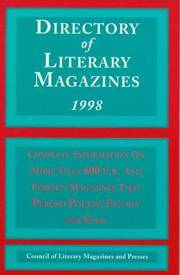 Directory of Literary Magazines 1998 (Serial)