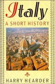 Italy: A Short History by Hearder, Harry