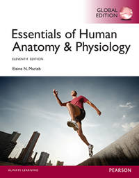 Essentials of Human Anatomy & Physiology (11th edn) by  E.N Marieb - Paperback - 2015 - from Anybook Ltd and Biblio.com