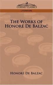 The Works Of Honore De Balzac