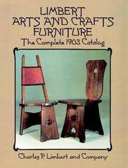 Limbert Arts and Crafts Furniture: The Complete 1903 Catalog (Dover Books on Antiques and Furniture)