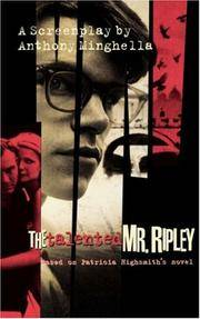 image of The Talented Mr Ripley: Play (Screen and Cinema)