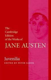 image of Juvenilia (The Cambridge Edition of the Works of Jane Austen)
