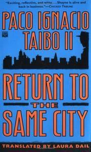 Return to the Same City