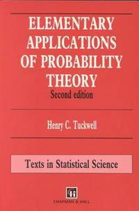 9780412576201 - Elementary Applications of Probability Theory