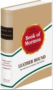 image of Book of Mormon: 1830 Replica Edition