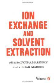 Ion Exchange and Solvent Extraction (Ion Exchange and Solvent Extraction Series)