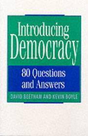 image of Introducing Democracy: 80 Questions and Answers
