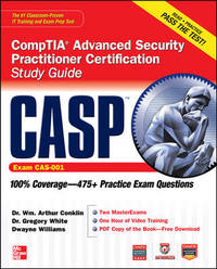 CASP CompTIA advanced security practitioner certification study guide (Exam CAS-001). (CD-ROM...