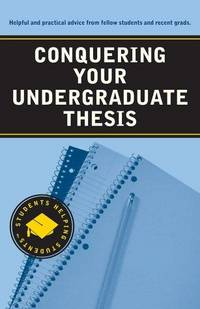 published undergraduate thesis John rawls never published anything about the rule of publishing your undergraduate senior faith is rawls's undergraduate senior thesis.