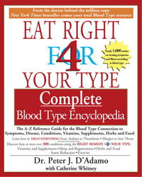 image of Eat Right 4 Your Type : Complete Blood Type Encyclopedia