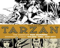 image of Tarzan : The Complete Russ Manning Newspaper Strips Vol. 2 : 1969 - 1971