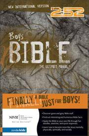 Boys Bible (NIV), The by  Rick Osborne - Hardcover - 2002-09-01 - from JMSolutions (SKU: s11-ATS-160328005)