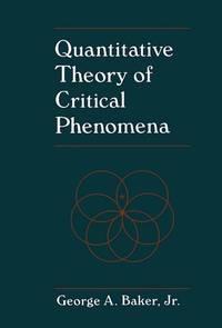 Quantitative Theory of Critical Phenomena