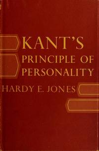 KANT'S PRINCIPLE OF PERSONALITY