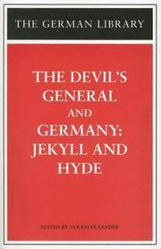 The Devil's General and Germany: Jekyll and Hyde (German Library)