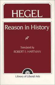 Hegel : Reason in History