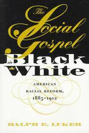 Social Gospel in Black and White (Studies in Religion)