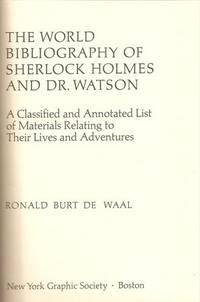 World Bibliography of Sherlock Holmes and Dr. Watson
